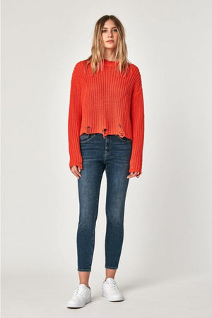 Mavi - Tess Dark Cashmere High Rise Super Skinny