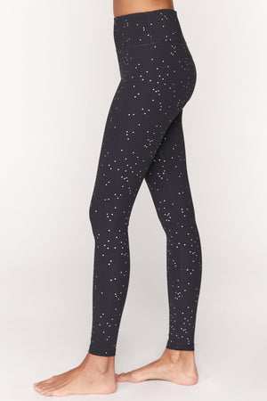 Spirtual Gangster - Essential High Waisted Leggings- in night sky active print