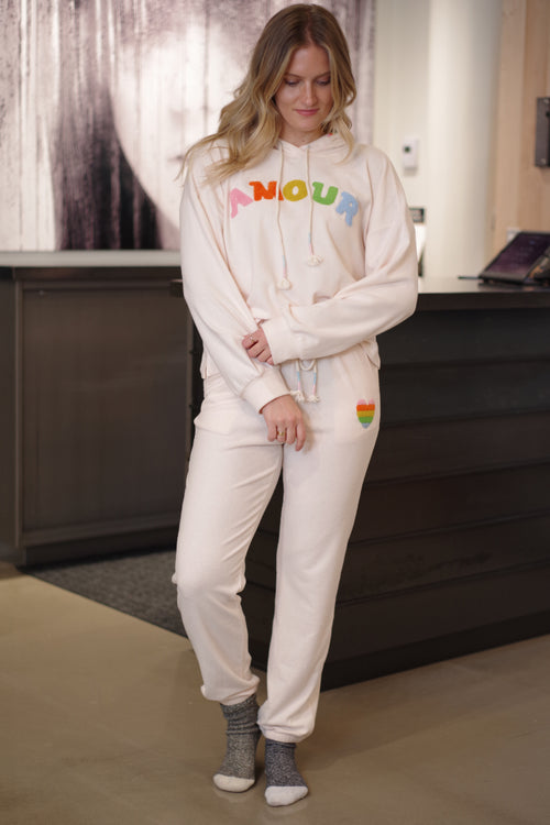 Very j - Amour trackpants baby peach