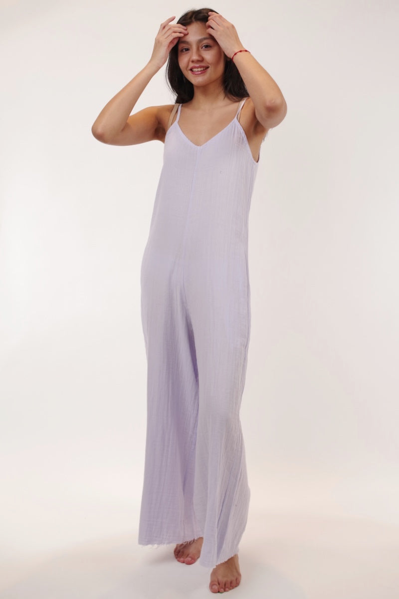 Stark X - Jumpsuit in Lilac