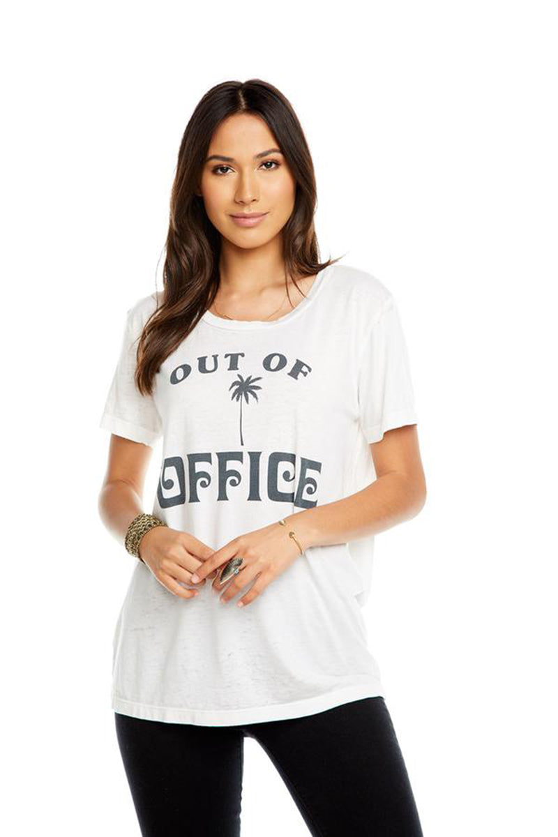 Chaserbrand - Out of Office White Tee - HeidiHo2