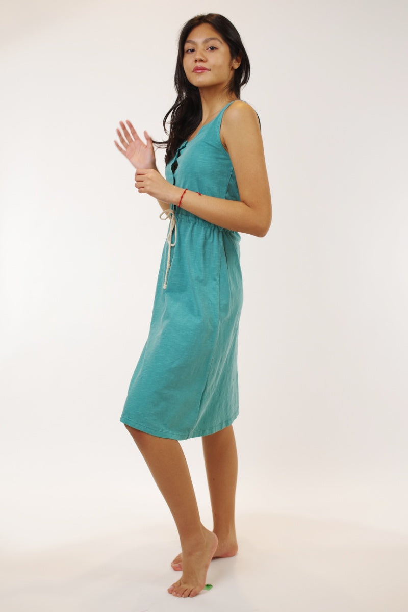Indie & Cold Teal Summer Dress