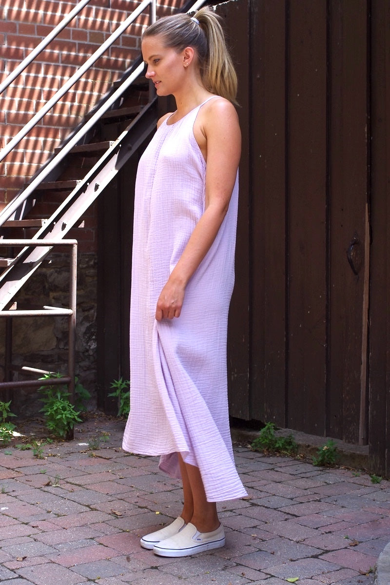 Stark X Maxi Dress in Mauve