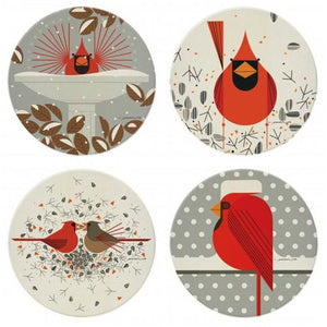 Stone Coasters (4) by Charley Harper