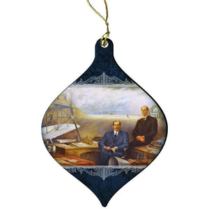 Wright Brothers Cutout Ornament
