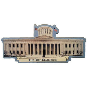 Ohio Statehouse Cutout Magnet