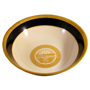 "State Seal China Serving Bowl 9"" wide"