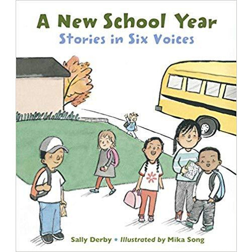 A New School Year: Stories in Six Voices 2018 Ohioana Award Winner signed by Author