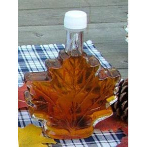 Maple Leaf Bottle Maple Syrup Grade A Amber 8.45 fl oz