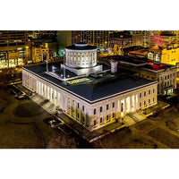 The Ohio Statehouse at Night