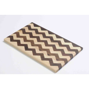 Stripped Chevron Cutting Board by Warther Cutlery