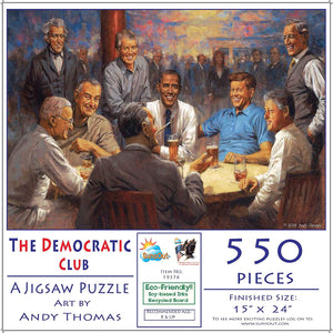 The Democratic Club 550 Piece Puzzle