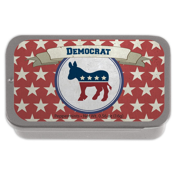 Democrat Peppermint Tin