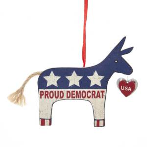 Proud Democrat Ornament