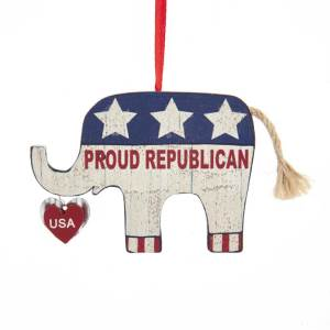 "Wooden ""Proud Republican"""