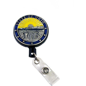 Heritage Pewter Coat of Arms Badge Reel
