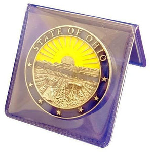 Ohio Coat of Arms Challenge Coin