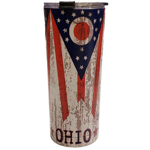 24 oz. Ohio Stainless Steel Tumbler