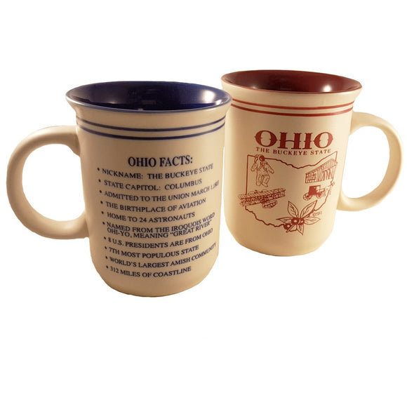 Ohio Facts Mug
