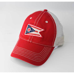 Ohio State Flag Trucker Hat