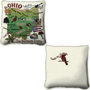 Ohio Tapestry Pillow