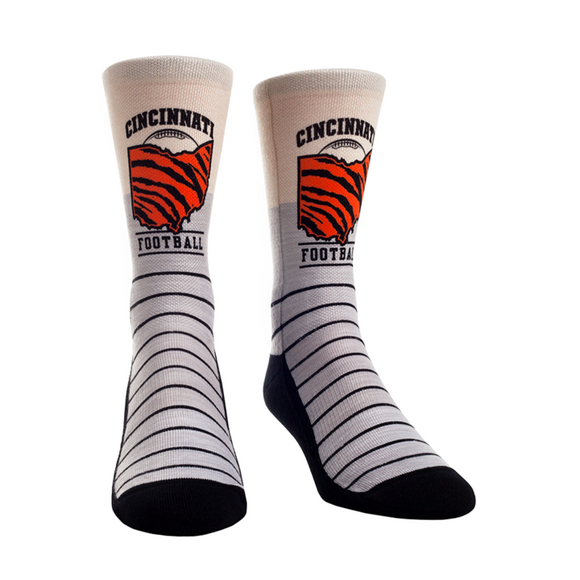 Cincinnati Football Rock 'Em Socks