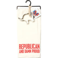 Republican Towel and cookie cutter