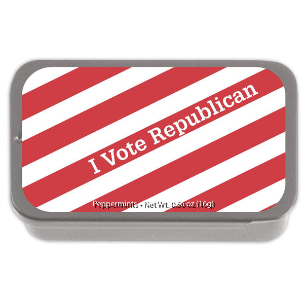Vote Republican Peppermint Tin