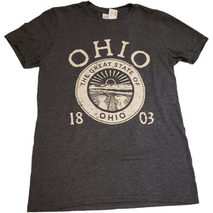 Ohio Seal Distressed Tee Shirt