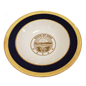 State Seal China Soup Bowl