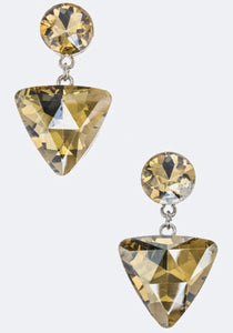 Glitz & Glam Earrings - 3 Colors/Shapes available
