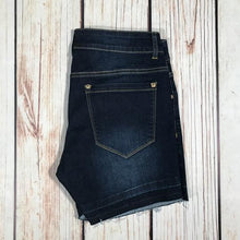 Hawthorne Denim Shorts with Released Hem