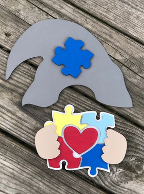Interchangeable Gnome Sign ACCESSORIES (hat/hands) and Bundles