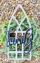 3D Farmhouse Window Door Hanger or Wall Hanging - FULLY CUSTOMIZABLE