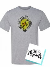 Be the Light Tee - Choose Tee color & color or black print
