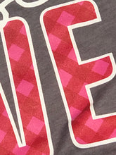 Choose Love Red & Pink Plaid Tee