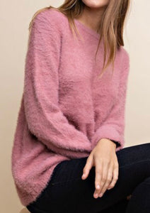 Lightweight Mohair Sweater -2 colors! (S-M)