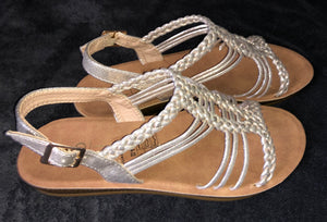 Gold Strappy Sandal