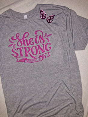Breast Cancer Edition of She is Strong