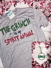 The Grinch is my Spirit Animal Tee