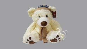 Teddy Bear Muflar Design XL - Off White