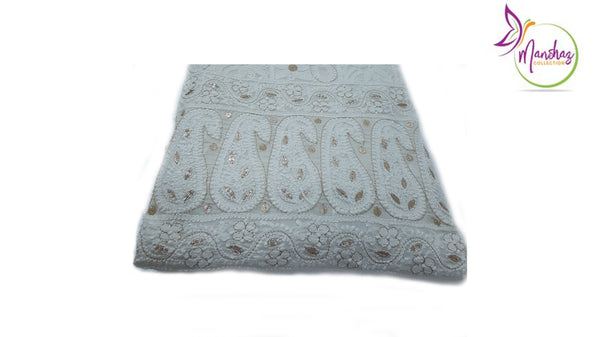 ChickanKari w/ Gota Work - White