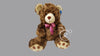 Wet Hair Teddy Bear Large - Brown