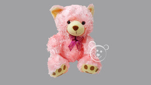 Wet Hair Teddy Bear Large - Pink