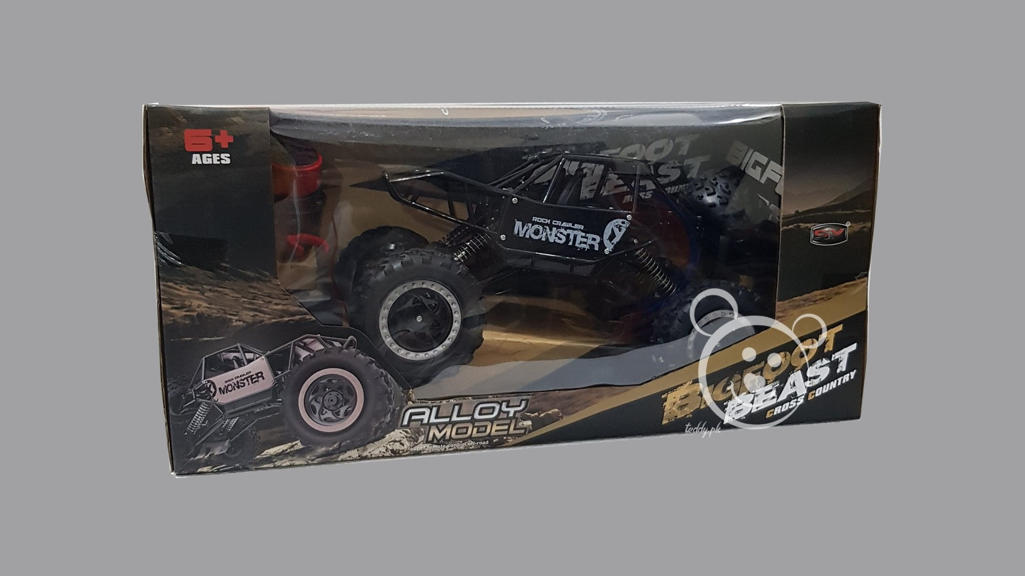 Big Foot Beast - Rock Crawler R/C Car