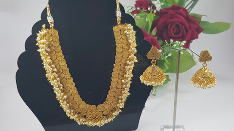 Indian Kundan Party Set With Pearls