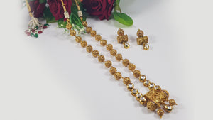 Indian Kundan Mala Set