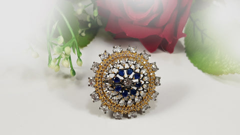 Blue Turkish Ring