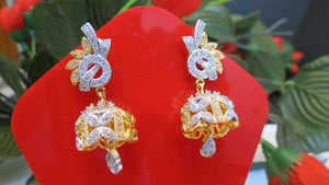 Jhumki Style Earrings