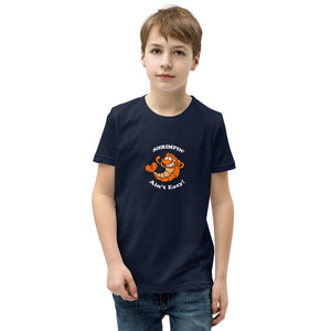 Kids Shrimpin Ain't Easy Jiu Jitsu Shirt